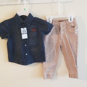 18mo. NWT 7 for all mankind outfit